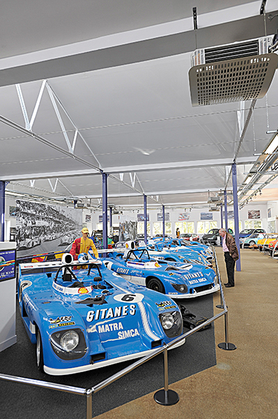 ALPINE Expo MUSEE MATRA a ROMORANTIN 19 avril 2013 inauguration Photo Berlinette Jean Jacques MANCEL pour autonewsinfo