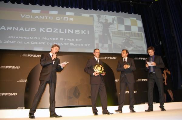 ARNAUD KOZINSKI Volant d or Remise des Prix FFSA 2009 Photo Romane DIDIER