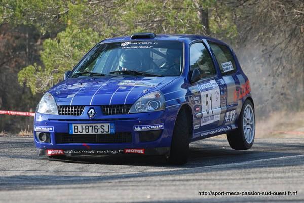 AUDRIC CHANTRIAUX Rallye de Vaison La Romaine 2011