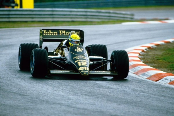AYRTON- GP du PORTUGAL ESTORIL-21 Octobre 1984-Lotus- -Bernard Bakalian
