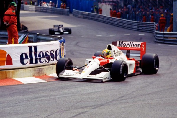 AYRTON-GP de MONACO-McLaren- Bernard Bakalian