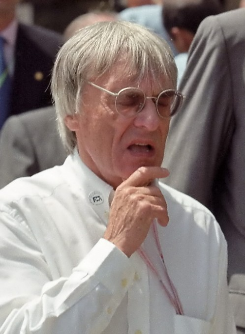 UN successeur pour BERNIE ECCLESTONE ??? Photo Manfred GIET