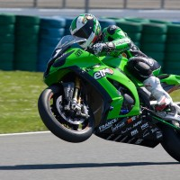BOL D OR 2013 Leblanc Kawasaki 11 Pole Position Photo Michel Picard Automotonewsinfo