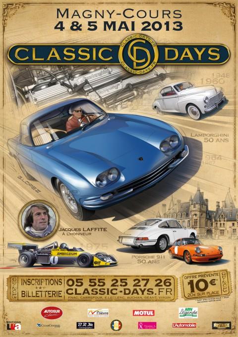 CLASSIC DAYS 2013 Affiche