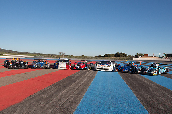 ELMS 2013 Le plateau LMP2 et GT test au circuit Paul Ricard photo Gilles VITRY autonewsinfo
