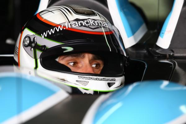 ELMS 2013 MORAND Racing Franck MAILLEUX cockpit MORGAN Judd