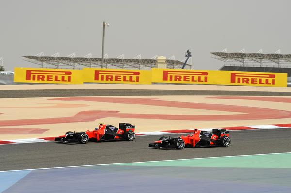 F1 2013 BAHREIN Les MARUSSIA