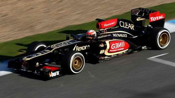 F1-2013-BARECELONE-Test-LOTUS-KIMI-RAIKKONEN