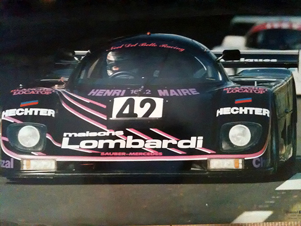 GILLES-LEMPEREUR-SAUBER-MERCEDES-LE-MANS-1987-Photo-Collection-LEMPEREUR