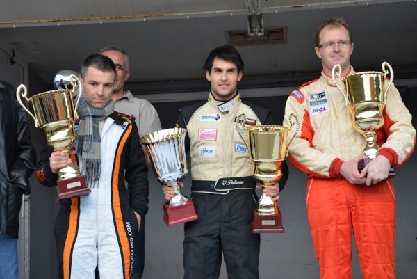 GRAND CHALLENGE 2011 Vincent BELTOISE Podium