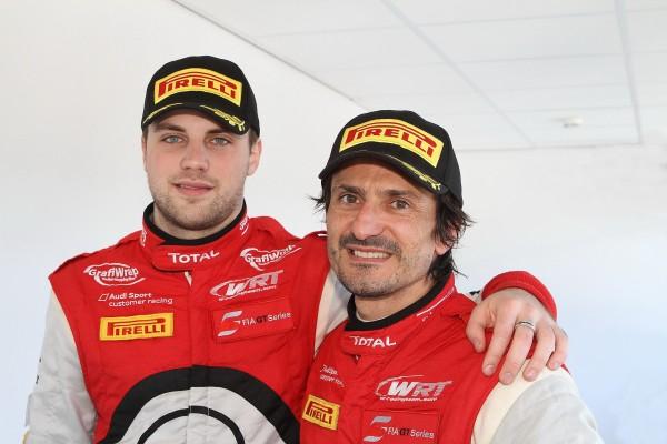 GT FIA 2013 ZOLDER Les vainqueurs Laurens VANTHOOR et Stéphane ORTELLI © Manfred GIETpour autonewsinfo.