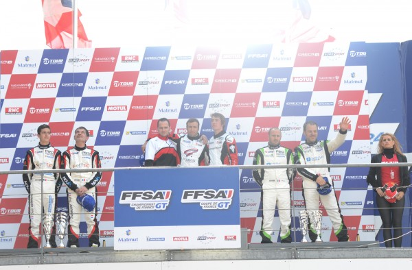 GT TOUR 2013 LE MANS Course 2 Le podium Photo Claude MOLINIER