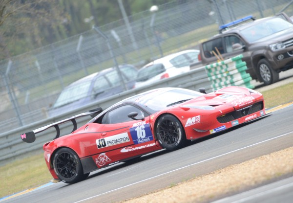 GT TOUR 2013 LE MANS FERRARI Team ASP SOFREV BARTHEZ MOULIN TRAFFORT Photo Claude MOLINIER autonewsinfo