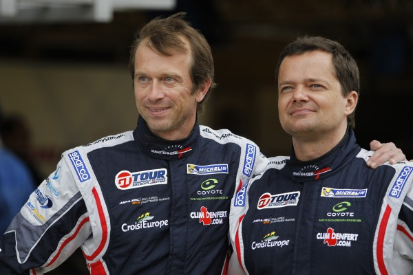 GT TOUR 2013 LE MANS Portrait Anthony BELTOISE Laurent PASQUALI photo Claude MOLINIER