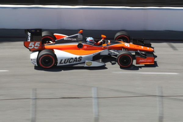 INDYCAR 2013 LONG BEACH DALLARA DW TRISTAN VAUTIER
