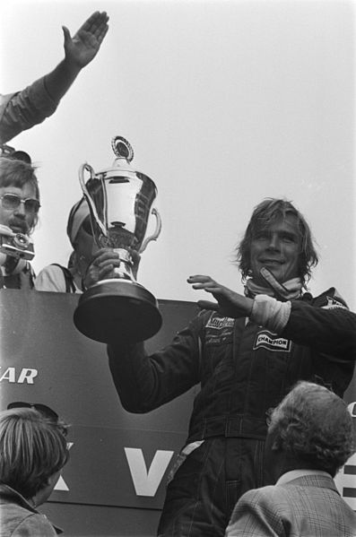 JAMES HUNT  Podium GP
