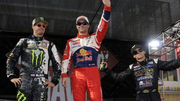 LOEB-GAGNE-LES-X-GAMES-2012-A-LOS-ANGELES Photo Red Bull