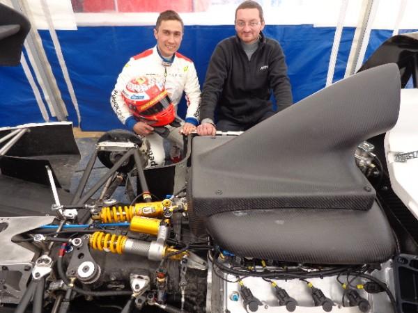 MONTAGNE 2012 BAGNOLS SABRAN nico SCHATZ et Guillem ROUX ingenieur de NORMA AUTO CONCEPT photo autonewsinfo