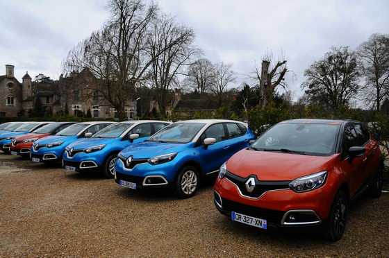 Renault Captur il ne reste plus qu'à en choisir une Photo Patrick MARTINOLI autonewsinfo