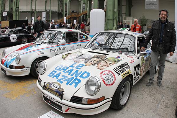 TOUR-AUTO-2013-AU-GRAND-PALAIS-La-PORSCHE-911-RSR-2-8l-de-1973-du film des Charlots inscrite cette annnée par-Georges-SAIER-Photo-Gilles-VITRY-autonewsinfo