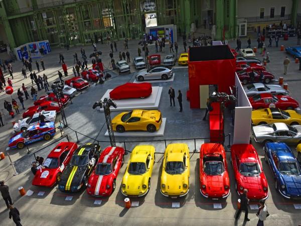 TOUR AUTO 2013 AU GRAND PALAIS Les belles FERRARI s'offrent le Grand Palais Photo MAX MALKA autonewsinfo
