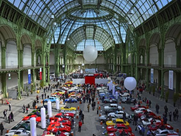 TOUR AUTO 2013 GRAND PALAIS les voitures en parc de regroupement Photo MAX MALKA pour autonewsinfo