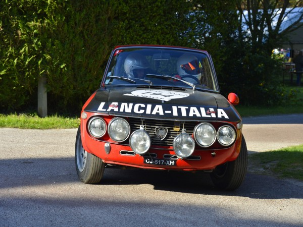 TOUR AUTO 2013 Photo de Max MALKA pour autonewsinsinfo LANCIA FULVIA 1970 Sebastien MARGOT Claude CASSINA