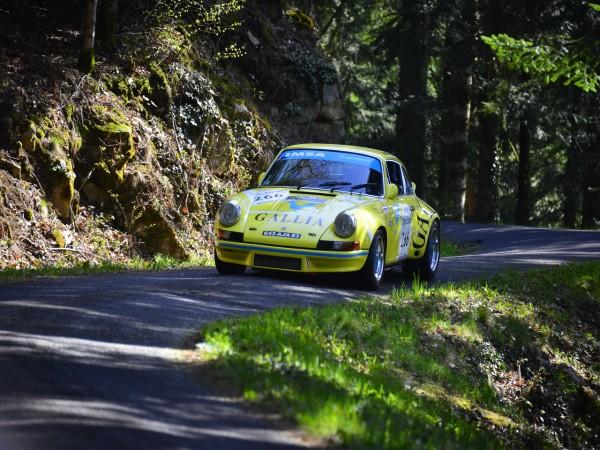 TOUR AUTO 2013 Photo de Max MALKA pour autonewsinsinfo PORSCHE 911 RSR 1973 Michel LECOURT Raymond NARAC.