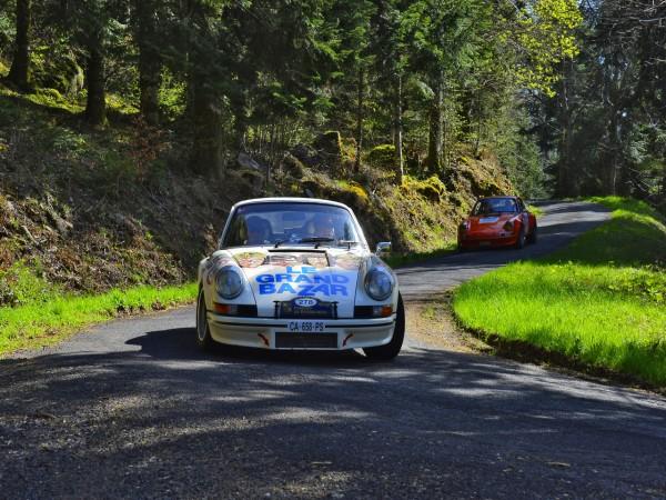 TOUR AUTO 2013 Photo de Max MALKA pour autonewsinsinfo PORSCHE 911 RSR 1973V Georges SAIER Georges Edouard ALTIERI.