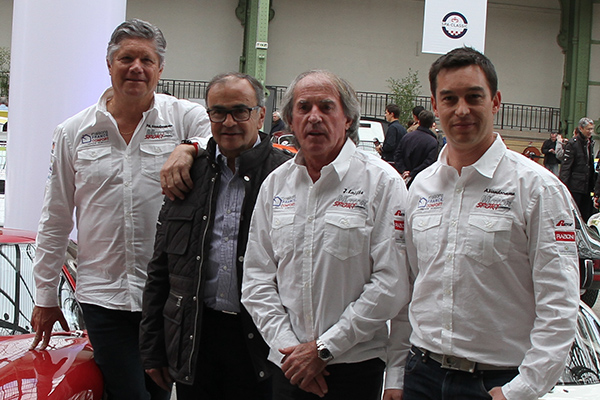 TOUR-AUTO-2013-Team-MOTORSPORT-avec-Jacques-LAFFITE-VANDROMME-pere-et-fils-Phil-et-Antoine-et-Fred-VIVIER-photo-Gillesc-VITRY-autonewsinfo