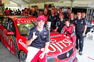 V8-SUPERCAR-2013-PUKEKOHE-SCOTT-MC-LAUGHLIN-1er-course-1
