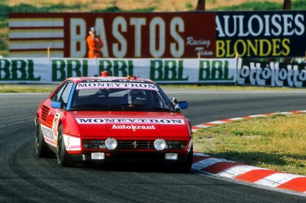 VAN ROSSEM 24 HEURES SPA 1989 MONEYTRON -Ferrari Mondiale avec GACHOT-ROSBERG-HUYSMANS-© Manfred GIET