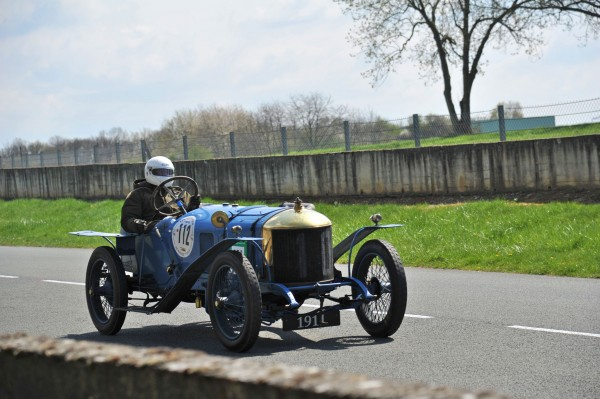 VINTAGE REVIVAL MONTLHERY 2013 Delage Type X 1911 photo Jean Pierre PASCHE