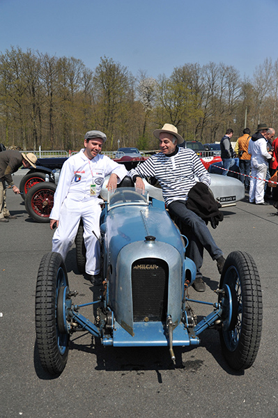 VINTAGE-REVIVAL-MONTLHERY-2013-Vincent-Chamon-et-Jacques IURI -photo-Jean-Pierre-PASCHE