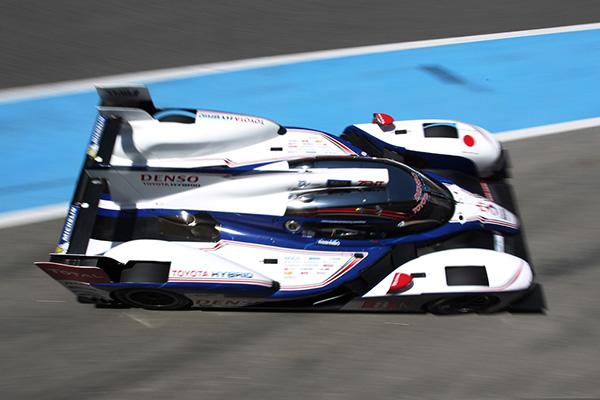 WEC-2013-Avant-SPA-La-TOYOTA-TS030-version-2013 en test sur le circuit de Portimao au Portugal