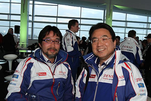 WEC-2013-Hisatake-Murata-Ingenieur-responsable-du-programme-e-Président-de-TOYOTA-KINOSHITA-photo-Gilles-VITRY-auronewsinfo