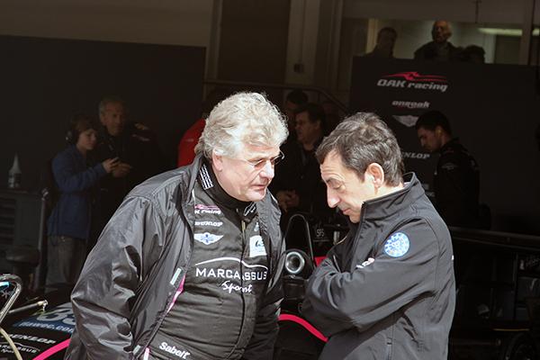 WEC-2013-Test-PAUL-RICARD-Jacques-NICOLET-en-conversation-avec-Pierre-FILLON-photo-Gilles-VITRY-autonewsinfo