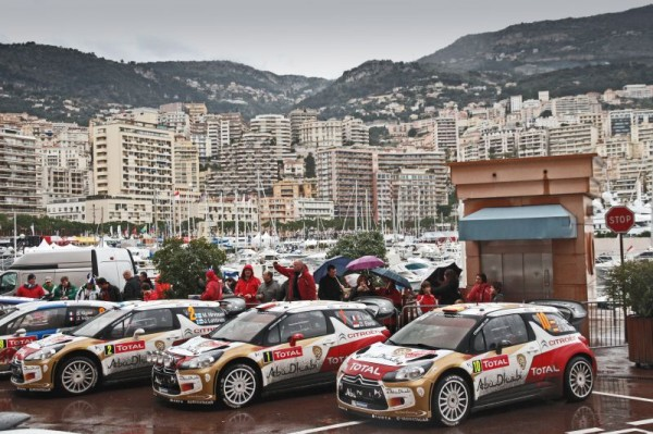 WRC 2013 MONTE CARLO LES DS3 en parc ferme Photo Jo LILINI