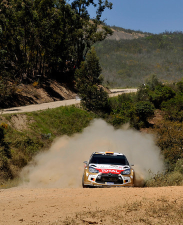 WRC 2013 PORTUGAL DS3 DANI SORDO Photo Jo LILLINI