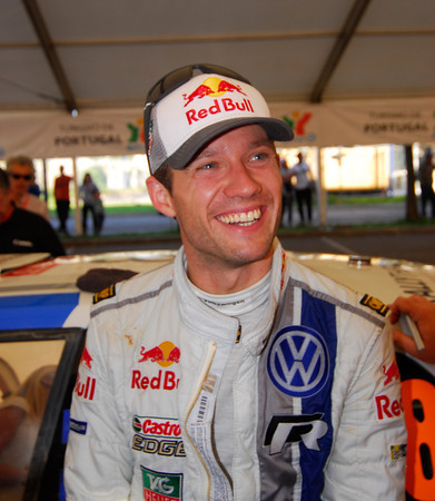 WRC 2013 PORTUGAL SEBASTIEN OGIER Portrait  Photo Jo LILLINI