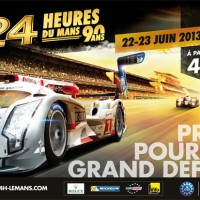 24 HEURES DU MANS 2013 AFFICHE
