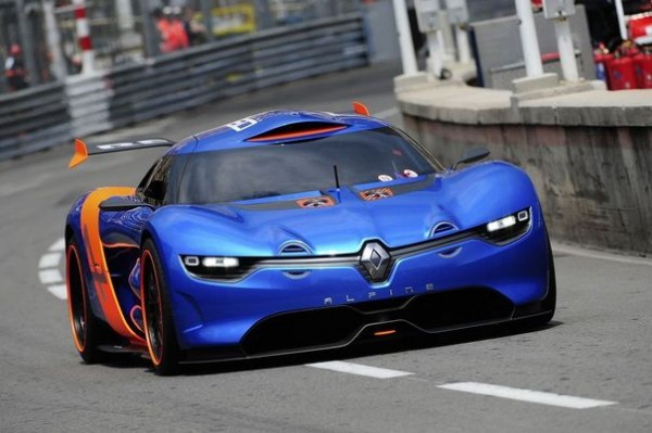 Le Concept car ALPINE-RENAULT-GP de MONACO-2012-Photo-BERLINETTE-pour-autonewsinfo