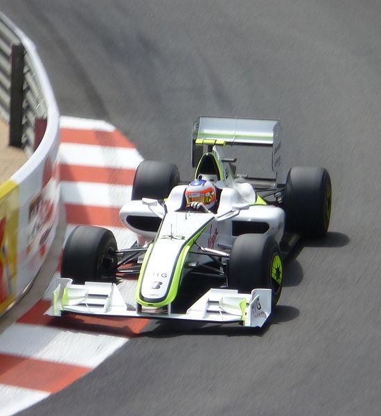 Rubens Barrichello-Brawn GP-au Grand Prix de-Monaco en 2009 - Photo Bernard BAKALIAN