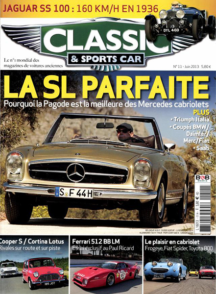CLASSIC & SPORTS CAR N° JUIN 2013