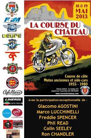 COURSE DE COTE DU CHATEAU 2013 Affiche