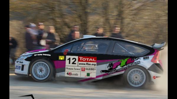 CUOQ C4 WRC pour le Chzampionnat de France 2013