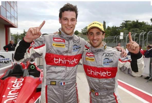 ELMS-2013-IMOLA-les-vainqueurs-Pierre-THIRIET-et-Mathias-BECHE