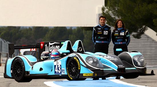 ELMS 2013 MORGAN JUDD MORAND RACING Natacha GACHNANG Franck MAILLEUX