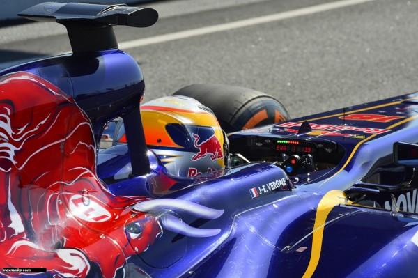 F1 2013 - Jean Eric VERGNE TORO ROSSO-FERRARI - Photo MAX MALKA