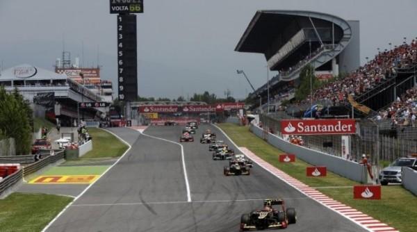 F1 2013 BARCELONE le depart de 2012